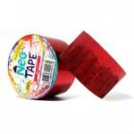 Fita Adesiva Multiuso 48mmx5m Neotape Brilho Vermelho 1 UN