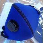 Máscara em Neoprene com Respirador 2,0 mm Azul