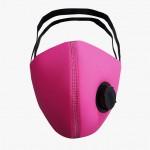 Máscara em Neoprene com Respirador 2,0 mm Pink