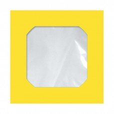 Envelope Midia Amarelo CMD 005 125mmx125mm 75g Cx c/250 - Scrity