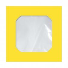 Envelope Midia Amarelo CMD 005 125mmx125mm 75g Cx c/250 - Scrity