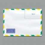 Envelope Carta Branco Aéreo COF 015 114mmx162mm 63g Cx c/1000 - Scrity