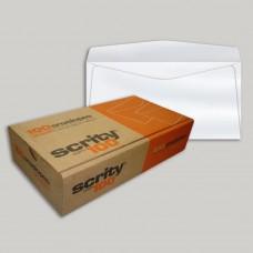 Envelope Ofício Branco COF 340 114mmx229mm 75g Cx c/100 - Scrity