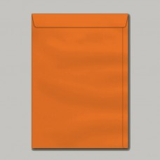 Envelope Colorido Saco Cartagena Laranja SCP325.13 176mmx250mm 80g Cx c/100 - Scrity