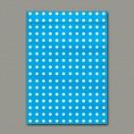 Envelope Saco para Presente Azul Pequeno 125mmx176mm 80g pct c/50 - Scrity