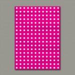 Envelope Saco para Presente Rosa Grande 260mmx360mm 80g pct c/50 - Scrity
