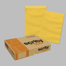 Envelope Saco Kraft Ouro SKO 335 250mmx353mm 80g Cx c/100 - Scrity