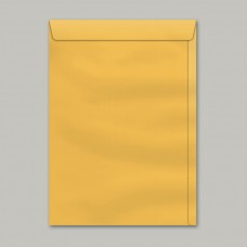 Envelope Saco Kraft Ouro SKO 018 125mmx176mm 80g Cx c/250 - Scrity