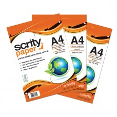 Papel Sulfite Offset FSC A4 210mmx297mm 75g 3Pcts - Scrity