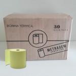 Bobina Térmica Amarela BT057.03 57mmx15m Caixa c/30 Bobinas - Scrity