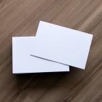 Cartões para Envelopes Visita 64mmx100mm 180g 1Pct com 100 - Scrity