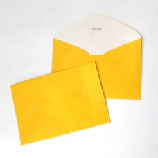 Envelope Colorido Promo Bella Arte Amarelo 130mmx190mm 75g Cx c/500