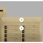 Envelope Saco Vai-Vem SKN 635 250mmx353mm 80g Cx c/100 - Scrity