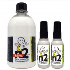 n2 - Bloqueador de Odores Sanitários (REFIL 480ml + 2x60ml)
